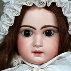 """Antique French Tete Jumeau Bebe Doll ~ Size 14, 30"""""""