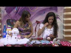 Mulher.com 09/12/2014 Sheila Abreu - Boneco de neve de meia Parte 2/2 - YouTube
