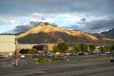 Mt Olympus behind the old Cottonwood Mall in Holladay, UT