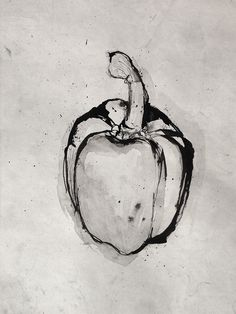 Pen and Ink - Red Pepper