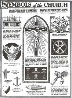 Symbols of the Church #infographic