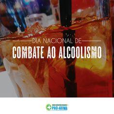 E aquela promessa de início de ano que você fez de parar de beber? Hoje é dia de combate ao alcoolismo, coloque suas promessas em ação e abandone hábitos ruins. #ProAtiva #Saúde #Alcool #Bebida