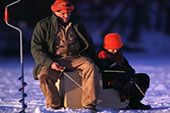 Ice fishing resources and information to ensure a fun and rewarding experience in Pure Michigan.