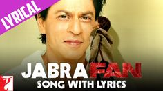 Jabra FAN Anthem Song with Lyrics   Shah Rukh Khan   In a world of labels it's easy to forget who made sportsmen, pop singers and matinee idols into stars, superstars and megastars – the FANS. Every FAN has their own personal relationship with their hero – it's almost a Love Story. FAN is the story of Gaurav (Shah Rukh Khan) a young man, 20 somethi...   http://masalamoviez.com/jabra-fan-anthem-song-with-lyrics-shah-rukh-khan/