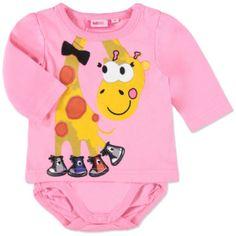 MAX COLLECTION Langarmbody rosa  #Body #Babybody #Babymode