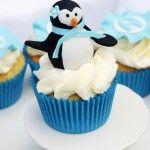 How to make a fondant penguin topper
