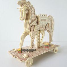 3d puzzles/rompecabezas de lana para adultos de bricolaje rompecabezas de madera rompecabezas de animales de