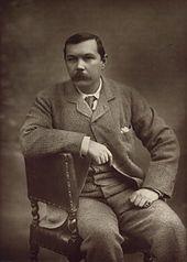 The young Arthur Conan Doyle.