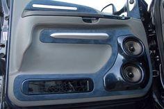 Diy Truck Interior, Custom Car Interior, Custom Car Audio, Custom Cars, Car Speaker Box, Car Audio Installation, Car Audio Systems, Car Sounds, Ford Excursion