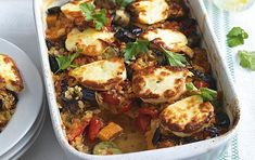 Turkish halloumi bake recipe | GoodtoKnow