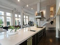 Spacious Apartment with The Awesome Interior Design : Broadway Cozy And Spacious Loft Apartment Kitchen