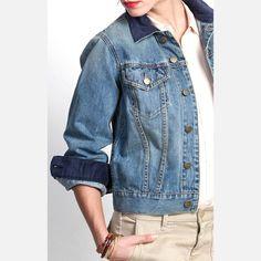 Jean Jacket by Henry & Belle