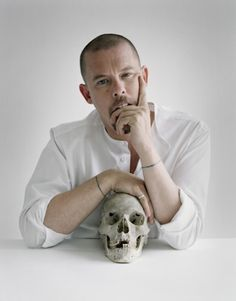 "When the fashion designer Alexander McQueen sewed locks of his hair into his 1992 show ""Jack the Ripper Stalks His Victims,"" it probably never crossed his mind that he was giving some scientifically oriented person in the future a way to generate human tissue with his own genetic material. But the year is now 2016, and that's exactly what student Tina Gorjanc is doing—and she's doing it, remarkably, as a way of emulating McQueen himself, by making clothes out of skin grown from McQueen'..."