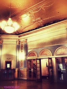 The Lincoln Theatre in Washington DC. *swoon*
