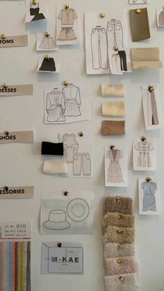 Fashion Design Sketchbook, Fashion Design Portfolio, Fashion Design Drawings, Fashion Sketches, Fashion Jobs, Student Fashion, Fashion Art, Art Deco Mode, Room Deco