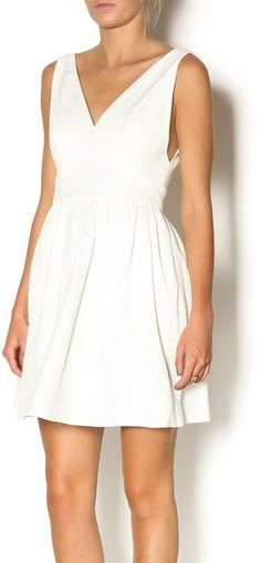 Pin for Later: 40 White Dresses We Dare You to Wear to Someone Else's Wedding  Minuet White Sundress ($99)
