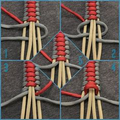 Bracelet Knots Paracord Bracelets Diy Jewelry Paracord Tutorial Bracelet Tutorial Para Cord Paracord Braids Survival Tips Baking Soda from not sure the name of this but here is how it s done its a cobra weaved into a cobra paracord… – Artofit Paracord Tutorial, Macrame Tutorial, Bracelet Tutorial, Bracelet Knots, Bracelet Crafts, Paracord Bracelets, Jewelry Crafts, Macrame Bracelets, Bracelet Making