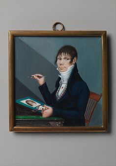 Unknown Artist. Self Portrait, ca. 1800–1805. The Metropolitan Museum of Art, New York. Dale T. Johnson Fund, 2014 (2014.512)