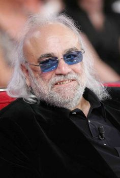 Demis Roussos, 1946-2015, a Greek singer and performer who had a string of international hit records as a solo performer in the 1970s after having been a member of Aphrodite's Child, a progressive rock group that also included the well renowned Vangelis. He has sold over 60 million albums worldwide.