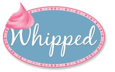 Logo design for Whipped, an upcoming cupcake shop. Design by BR Graphic Design LLC (www.brgdonline.com).