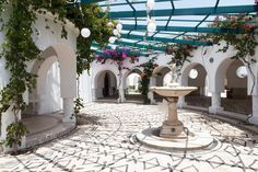 Kallithea Springs in Rhodes, Greece is well worth a visit!