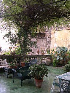 Veranda by anna solatìa, via Flickr