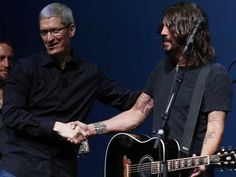 If Tim Cook recapped Apple's 2012 (Image credit: REUTERS/Beck Diefenbach)