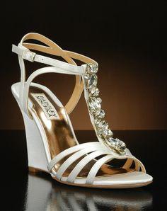 Wedge Wedding Shoes by My Glass Slipper - Kole-II by Badgley Mischka Kole-II by Badgley Mischka - Shoes