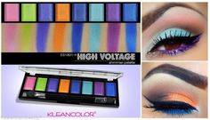 NEW Color Eye Shadow Makeup Cosmetic Shimmer Matte Eyeshadow Palette +brush