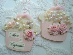 Have a pink cupcake by The pinkbuttercreme Cottage Market, via Flickr