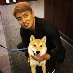 Hanzoと! #dog #犬 #柴犬