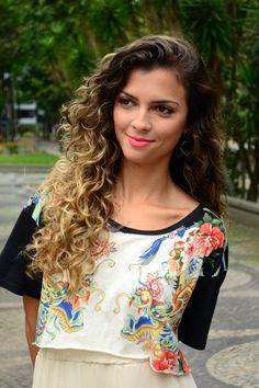 Quem sabe em #2015 curly hair - Natural hair - beautiful
