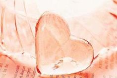 Pink Ice Heart.