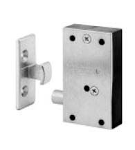 Use this invisible latch to keep hidden doors, or any door latched closed