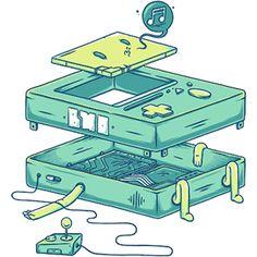 Adventure Time // DIY Coasters on Behance