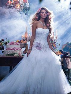 Sleeping Beauty - 2014 Alfred Angelo Disney's Fairy Tale Wedding Gowns - Inspired By Dis