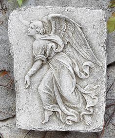 Look at this Left-Facing Angel Garden Plaque on #zulily today!