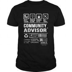 COMMUNITY-ADVISOR #fashion #clothing. FASTER:   => https://www.sunfrog.com/LifeStyle/COMMUNITY-ADVISOR-123944695-Black-Guys.html?id=60505