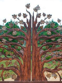 Portas / Portão... #peloMundoafora  * Portao Árvore  *   Iron Gate