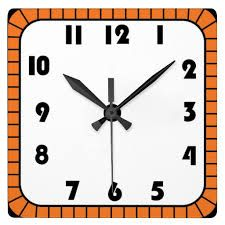Square Clock Clipart Black And White Clock Clipart Square Clocks Clock
