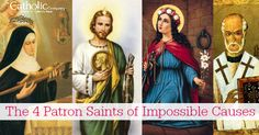 The 4 Patron Saints of Impossible Causes: a Catholic Company blog post
