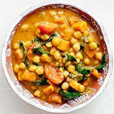 Curry indyjskie z dynią, ciecierzycą i szpinakiem | Kwestia Smaku