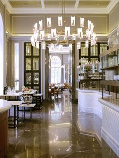 The Northall - Corinthia hotel bar, London.  Gilded ceilings & gilt detail to wall moulding by Stuart Fox Ltd. info@stuartfox.co.uk