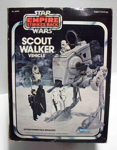 AT-ST (Scout Walker Vehicle) Star Wars - The Empire Strikes Back