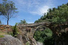 Ponte da Misarela Portugal, Beautiful Landscapes, Bridge, Road Trip, National Parks, Country, Architecture, Kids, Paisajes