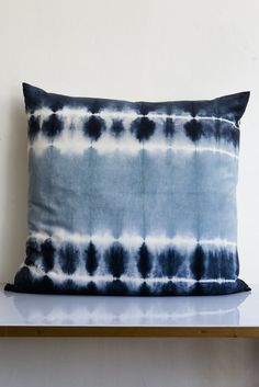kevin o'brien indigo pillow – Lost & Found