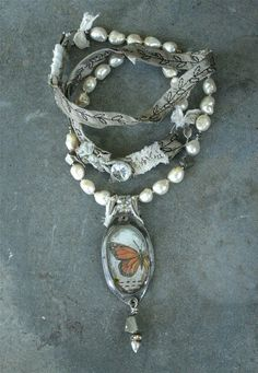 Migration Necklace by Stephanie Lee