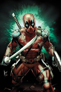 #Deadpool #Fan #Art. (Deadpool Vol.4 #26 Variant Cover) By: Dale Keown. ÅWESOMENESS!!!™ ÅÅÅ+