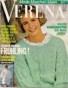 "Photo from album ""verena on Yandex. Knitting Books, Vintage Knitting, Knitting Magazine, Rubrics, Keds, Knit Crochet, Men Sweater, Textiles, Album"