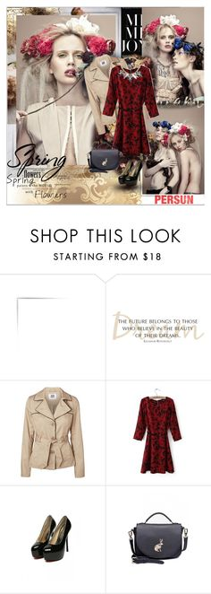 """""""Flowers of Carnage - PERSUN"""" by shinee-pearly ❤ liked on Polyvore featuring Vero Moda"""